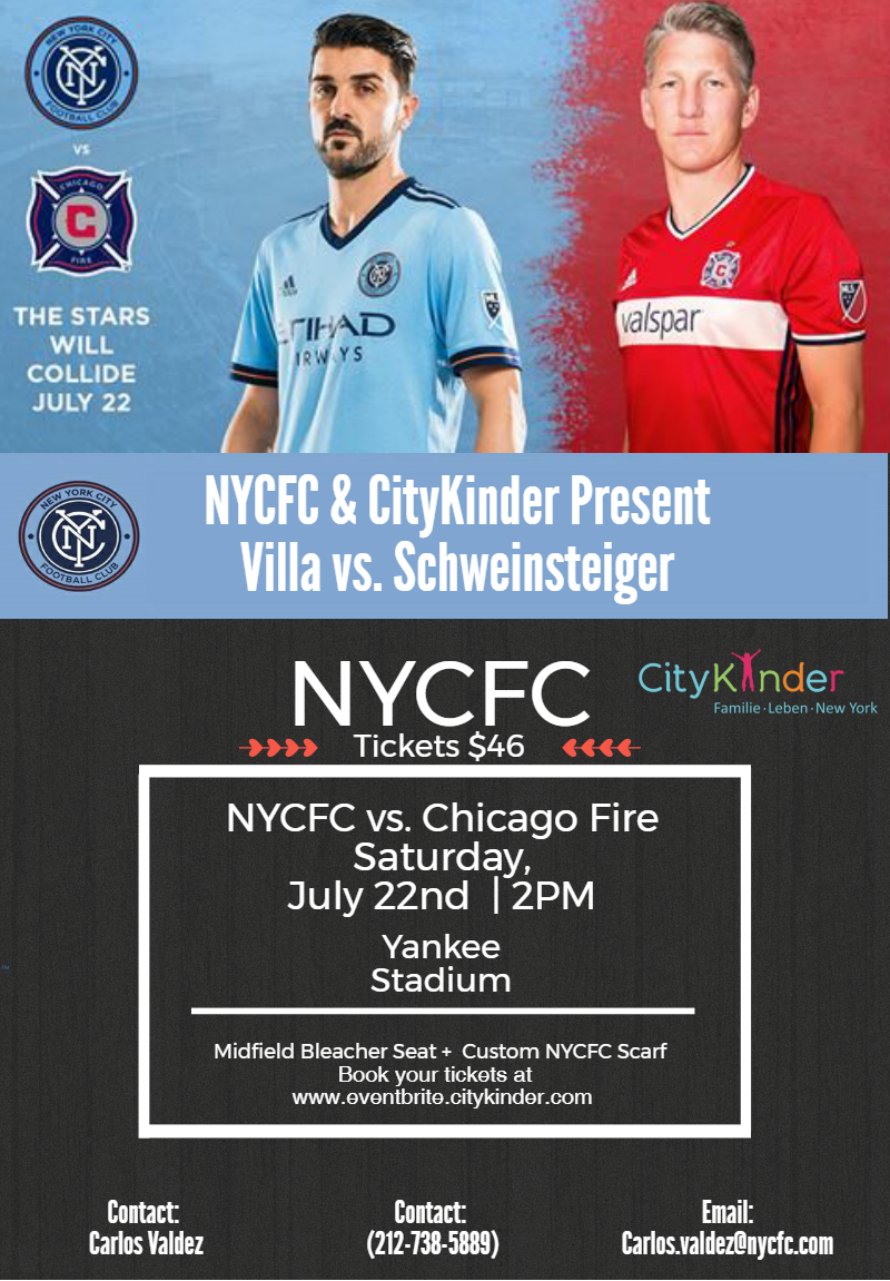 City Kinder - July 22nd - Flyer