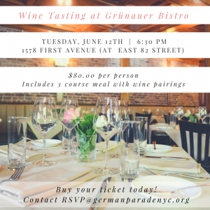 Wine Tasting at Grünauer Bistro