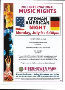 Eisenhower Park_German night